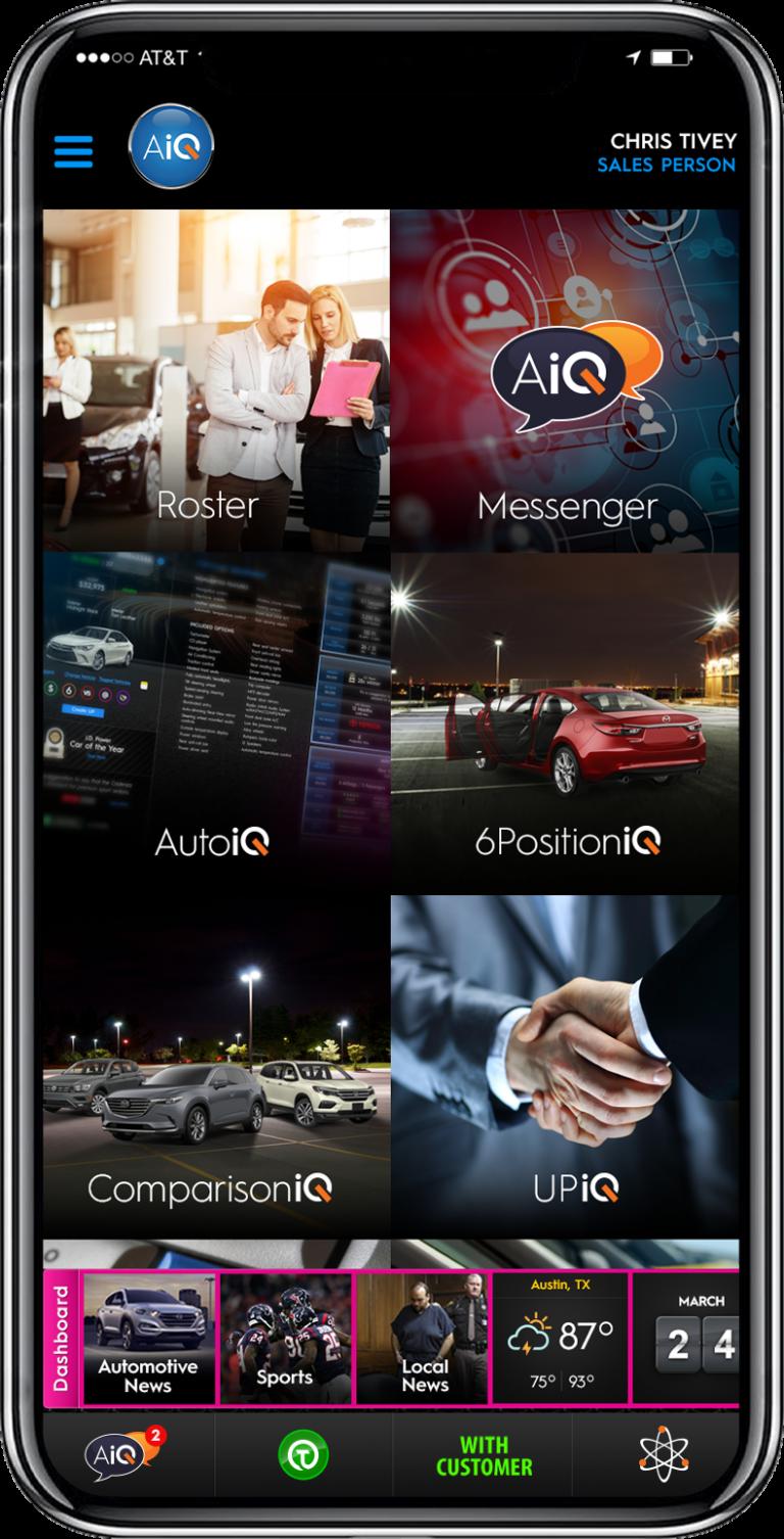 AiQ Mobile Dash