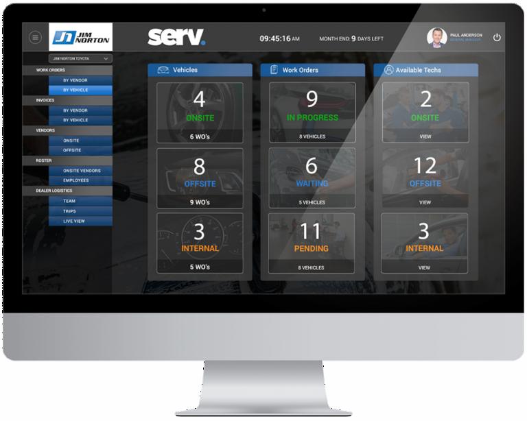 SERV Dashboard